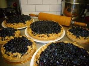 Ein Hauch von Sommer: Die Heidelbeer Karamell Tarte
